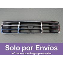 Parrilla O Careta Para Las F-150 Y Bronco Cromada 92 Al 98