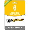 100 Cuentas Premium En Uno Por 180 Dias Alldebrid - Original