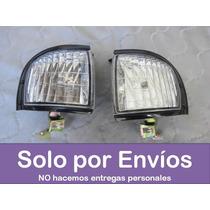 Set 2 Cocuyos De Faro Transparentes Chevrolet Luv 97 Al 2003