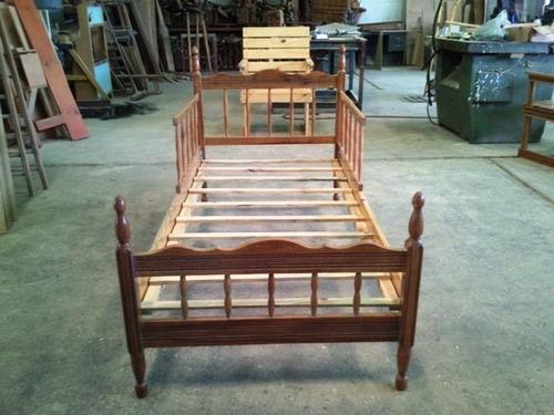 Cama cuna de madera bs u55tj precio d venezuela for Camas de madera precios
