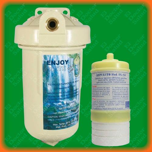 Filtro de agua enjoy 7 para neveras plantas de ozono - Filtro de agua precio ...
