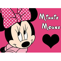 Kit Imprimible Minnie Mouse Invitaciones Editables, Tarjetas