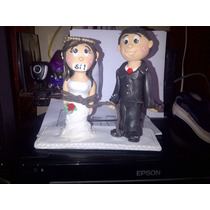Novios Matrimonio Masa Flexible
