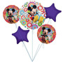 Globos Metalizados Bouquet De Minnie Y Mickey
