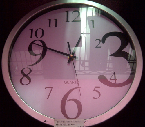 Reloj de pared grande redondo pq 1043 xavi bs - Reloj grande de pared ...