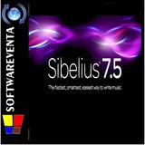 Editor De Partituras Sibelius 7 Para 32/64 Bits En Oferta