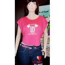 One Direction Camisa Artistas Online Talla S Y M Juvenil