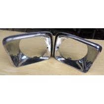 Aros De Faro Chevy Nova 75-76-77 En Aluminio Rh Y Lh