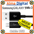 Cable Usb Cargador Sincronizador Samsung Galaxy Tab3 7 8 10