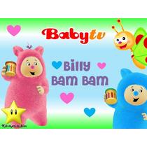 Kit Billy Bam Bam Baby Tv Diseña Tarjetas Cajas Cumples