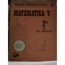 Libro Matematica V 2 Año Primer Bachillerato Ejercicios