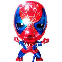 Globo De Metalizado Spiderman Somos Tienda Fisica