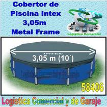 Cobertor Para Piscinas Metal Frame 305 Cm Intex Bestw 58406
