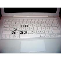 Teclas Para Computadores Apple Macbook Blanca Y Negra
