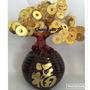 Bonsai Arbol De Monedas Para La Prosperidad Dinero Feng Shui
