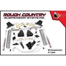 Rough Country Kit Suspensión 6plg F-250 Super Duty 11-14