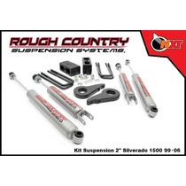 Rough Country Kit Suspensión 2plg Silverado Cheyenne 99-06