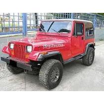 Buches Para Jeep Wrangler Cj5 C7 Nuevos Negros