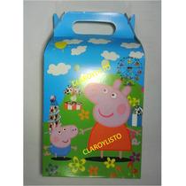 Cajas Y Conos Peppa Pig, Violetta, Dra. Juguete Y + Cotillón