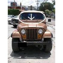 Rejilla De Jeep Cj5 Cj7 En Fibra De Vidrio Rustico Nueva