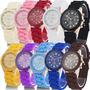 Relojes Geneva Gold Silicone Hk Mayor Detal Precios Excelent