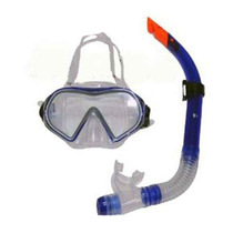 Set Careta Y Snorkel Yston De Silicon.