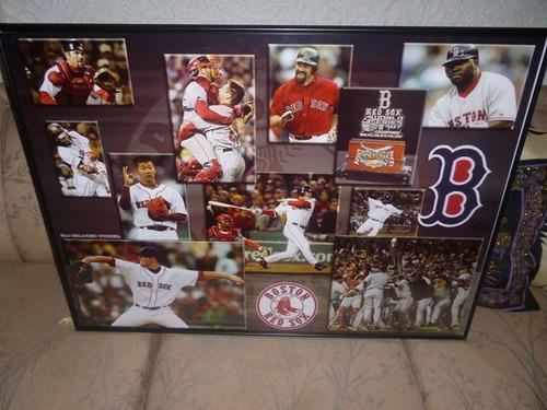 Cuadro enmarcado grande de colecci n de boston red sox 1 for Enmarcado de cuadros precios