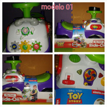 Carros Montables Para Bebés Mickey Mouse, Toy Story Activity