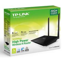 Router Inalámbrico N De Alta Potencia De 300mbps Tl-wr841hp