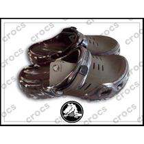 Sandalias Crocs Yukon Camuflada Caballero Solo Por Docenas