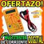Wow Tester Multimetro Digital De Corriente Profesional Cable