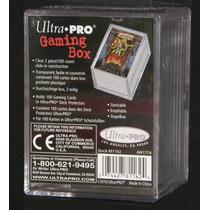 ( Geraval ) Caja Acrílica Para 100 Cartas Magic Ultra Pro