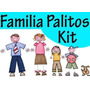 Kit Imprimible, La Familia Palitos, Mas De 2500 Imagenes