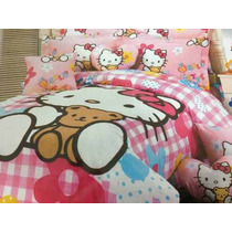 Edredon De Hello Kitty
