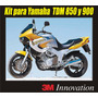 Kit De Calcomania Sticker Para Moto Yamaha Tdm 850 Y 900