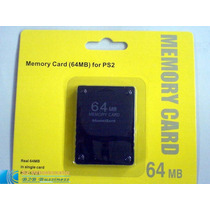 Memory Card 64 Mb Playstation 2 Sony Ps2 Memoria Play Consol
