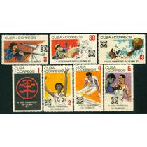 Estampillas Cuba Vi Juegos Panamericanos Cali- Colombia 1971