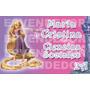 24 Etiquetas Escolares Rapunzel - Enredados - Calcomanias Ep