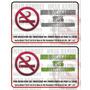 Aviso No Fumar