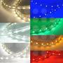 Led Manguera Luces Amarillo-azul-rojo-verde-blanca
