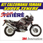 Kit Calcomania Sticker Moto Yamaha Super Tenere
