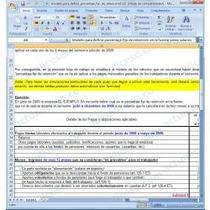 Formato En Excel Para Calculo De Retención De Iva