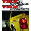 Calcomania Dodge Dakota Trx4 Off Road  100% 3m