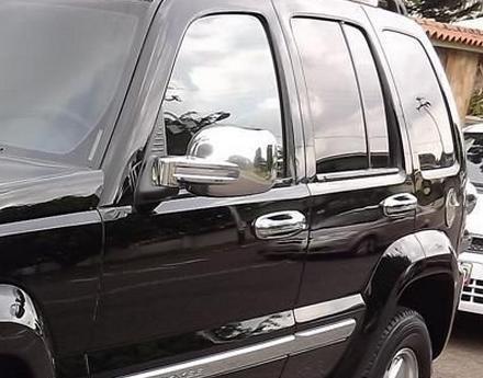 Kit De Retrovisores Cromados Para Jeep Liberty 2002- 2007