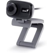 Cámara Web Genius Facecam 321 Vga Micrófono Incorporado