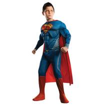 Disfraz Niño Superman Talla S 4-6,8-10,12-14 Originales