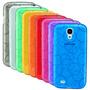 Forro Samsung Galaxy I9500 Siv S4 Burbuja Semitransparente