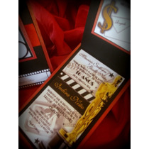 Invitaciones Hollywood Coleccion Mtv Edicion Rojas Especial