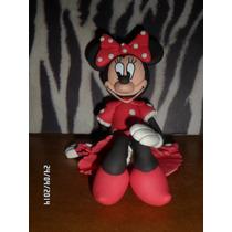 Recuerditos Minnie, Mickey Y Sus Amigos En Masa Flexible