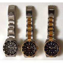 Relojes Orient Submarinos 100m, Tipo Rolex Submarino